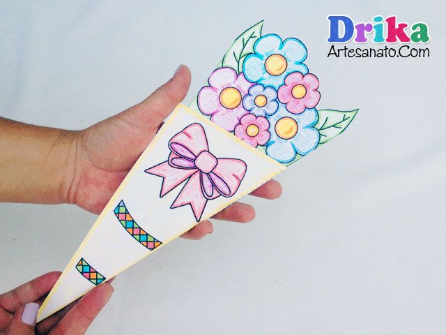 Cartão Buquê de Flores