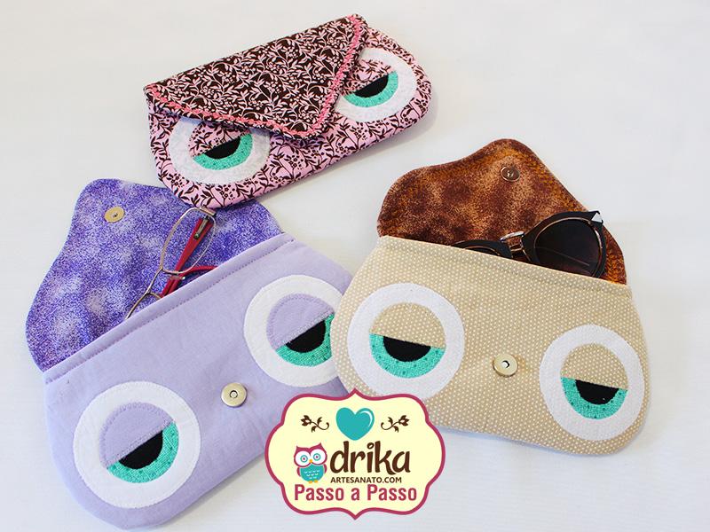 Porta-Óculos de Coruja