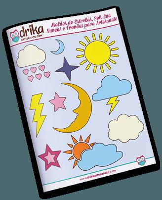 Moldes de Estrelas e Nuvens