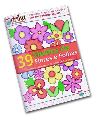 E-book Moldes de Flores