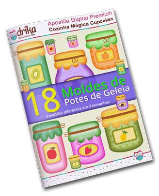 E-book Moldes de Potes
