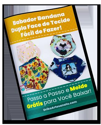 Babador Bandana Dupla Face