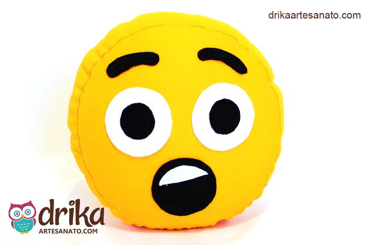 Almofada de Carinha Divertida Emoji