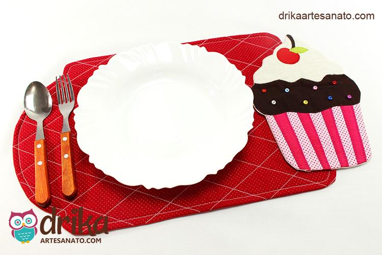 Jogo Americano de Cupcake