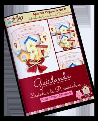 Guirlanda Casinhas de Passarinhos