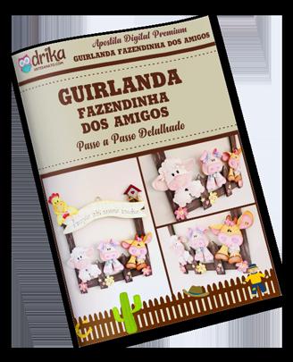Guirlanda Fazendinha dos Amigos